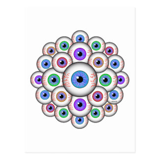 EYEBALLS POSTCARD