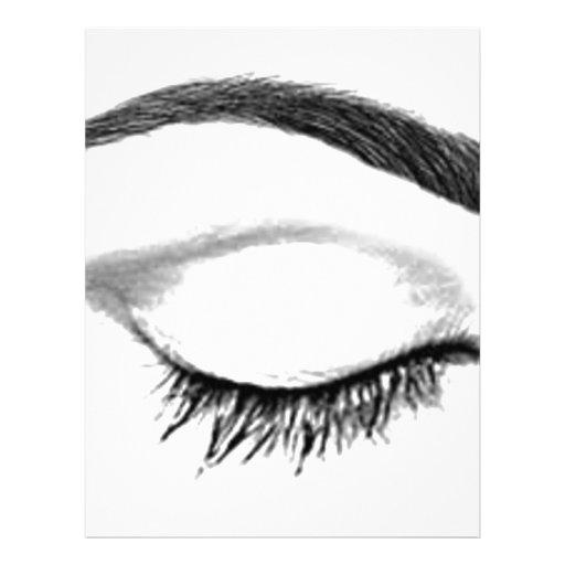Eyebrow Custom Letterhead