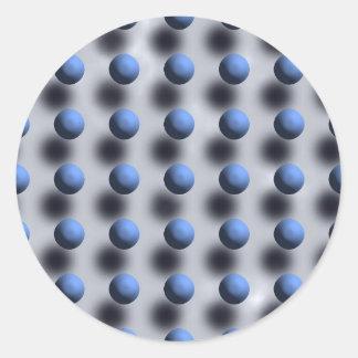 Eyebuster Polka Dots Classic Round Sticker