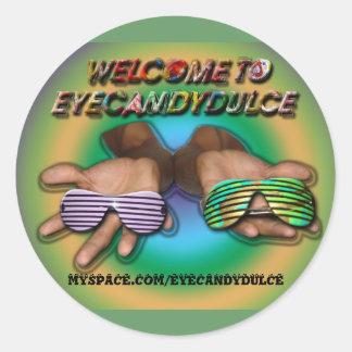 EYECANDYDULCE CLASSIC ROUND STICKER