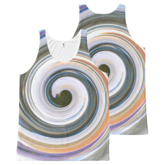 Eyecatching All-Over Print Tank Top