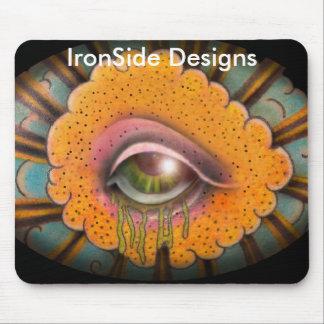 eyecloud, IronSide Designs Mouse Pad