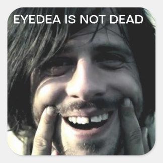 eyedea square sticker