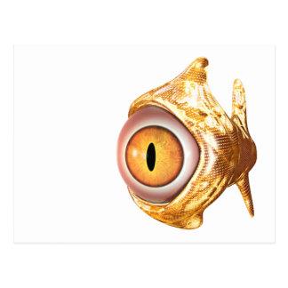 eyefish tarjeta postal
