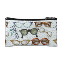 Eyeglass Fashion Pattern - Personalized Cosmetic Bag