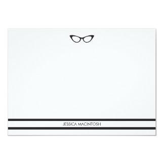 Eyeglasses Note Cards