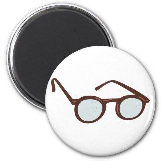 Eyeglasses of eyeglasses glasses 2 inch round magnet