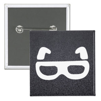 Eyeglasses Sizes Pictograph 2 Inch Square Button