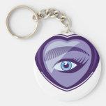 EyeHeart.pdf Keychain