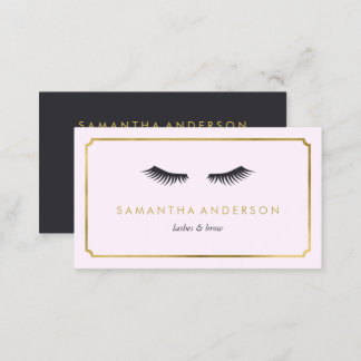 Business cards business card printing zazzle eyelash extension brow beautician business cards reheart Choice Image