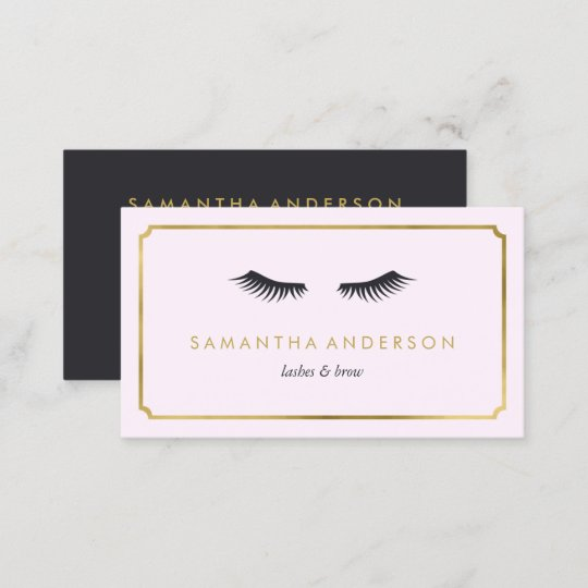 Eyelash extension brow beautician business cards zazzle eyelash extension brow beautician business cards colourmoves