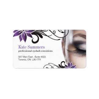 Eyelash Extensions - Labels