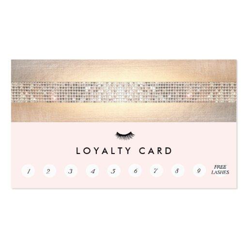 Eyelash Extensions Lash Customer Loyalty Punch Business