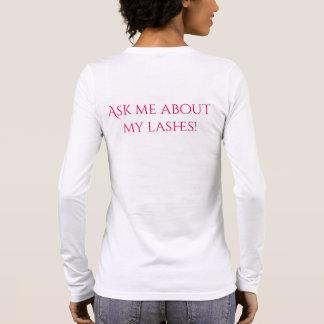 Eyelash Long Sleeve T-shirt