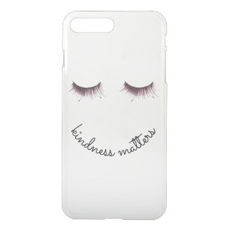 Eyelashes Kindness matters iPhone 8 Plus/7 Plus Case