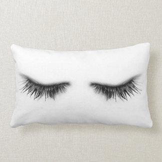 Eyelashes Lumbar Pillow