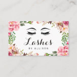 """Eyelashes Makeup Artist Romantic Floral Wrapping Business Card<br><div class=""""desc"""">Create your own Makeup Artist business card with this &quot;Eyelashes Romantic Floral Wrapping&quot; template. It&#39;s easy and fun! (1) For further customization, please click the &quot;Customize&quot; button and use our design tool to modify this template. All text style, colors, sizes can be modified to fit your needs. (2) If you...</div>"""