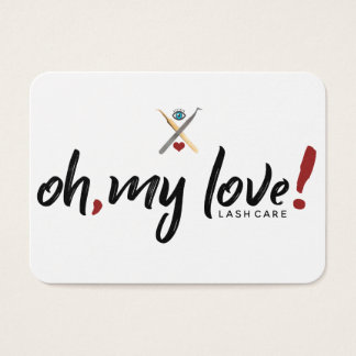 EYELOVE Lash After Care Card