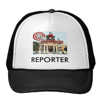 EYEONCITRUS.COM Reporter Cap Trucker Hat