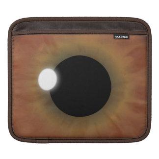 eyePad Brown Eye Iris Horizontal iPad Sleeve Cover
