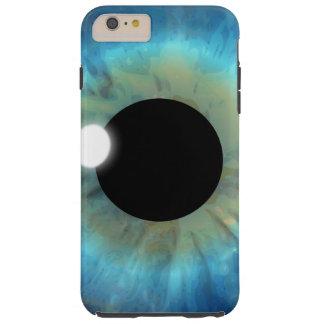 eyePhone Blue Eye Eyeball Tough iPhone 6 Plus Case