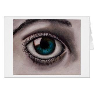 Eyes_5 [1] tarjeta de felicitación