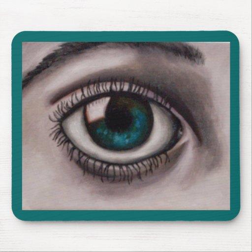 Eyes_5 Alfombrillas De Ratones