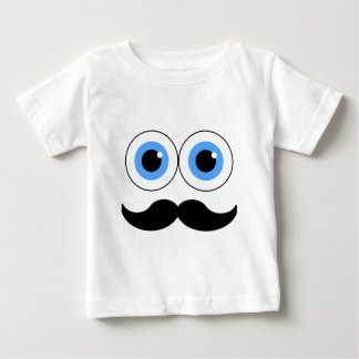 eyes and mustache baby T-Shirt