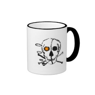 Eyes and noses ahead mugs