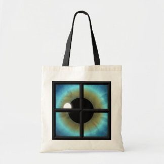 Eyes are the Windows to the Soul Budget Tote Bags Canvas Bags