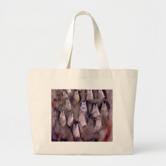 EYES ARE WATCHING-2 CANVAS BAGS