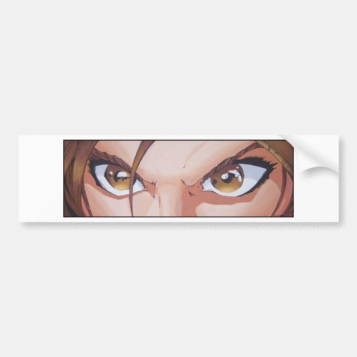 Eyes Bumper Sticker