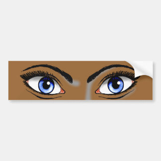 Eyes Bumper Stickers