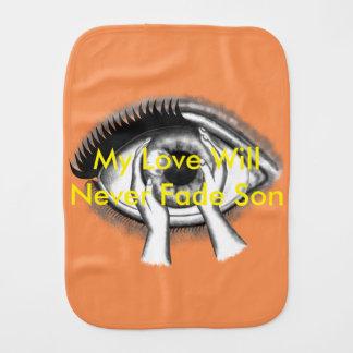 Eyes Burp Cloth