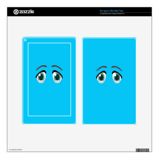 EYES DECALS FOR KINDLE FIRE