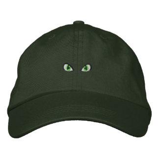 Eyes Embroidered Baseball Cap