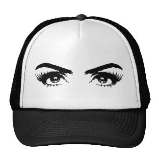 Eyes, Eyebrows & Eyelashes Trucker Hat