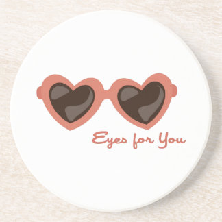 Eyes For You Drink Coasters