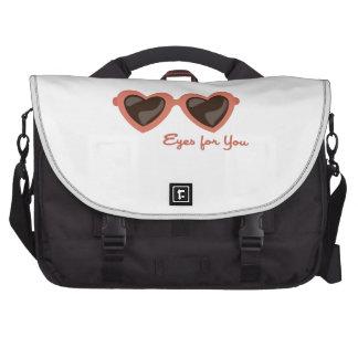 Eyes For You Laptop Messenger Bag