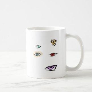 eyes heart coffee mug