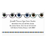 Eyes in Spectacles Double-Sided Standard Business Cards (Pack Of 100)