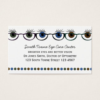 Eyes in Spectacles Business Card