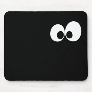 Eyes in the Dark Mouse Pad