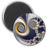 Eyes in the Sky - Fractal 2 Inch Round Magnet