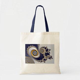 Eyes in the Sky - Fractal Canvas Bag