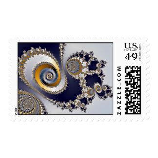 Eyes in the Sky - Fractal Stamp