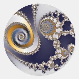 Eyes in the Sky - Fractal Sticker