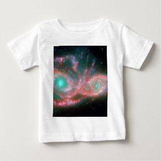Eyes in the sky NGC 2207 NASA Baby T-Shirt