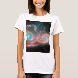 Eyes in the sky NGC 2207 NASA T-Shirt