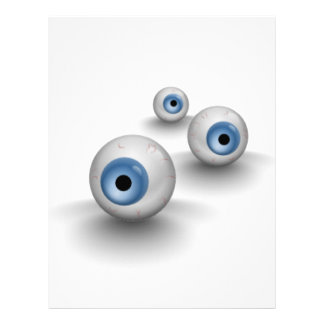Eyes Customized Letterhead
